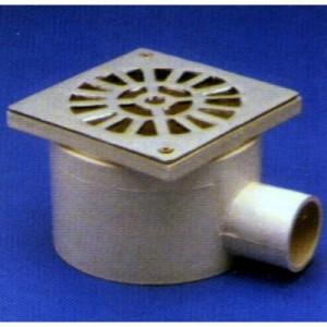 Receptáculo para ducha con Rejilla de PVC