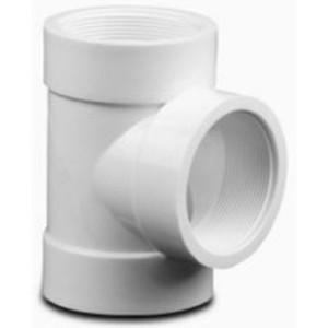 Te 90° Reduccion de PVC Roscado